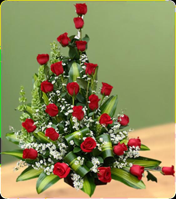 Arreglo  grande de rosas